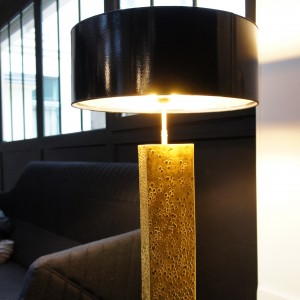 The Green Gold Lamp Design